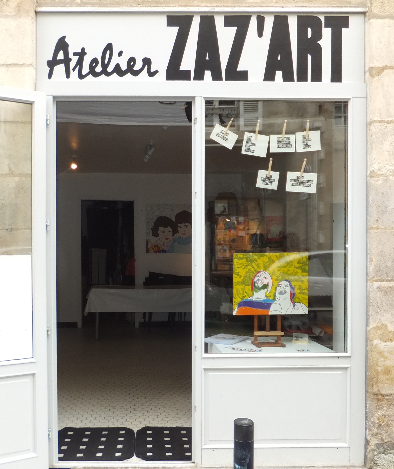 Atelier Zaz'art Bordeaux