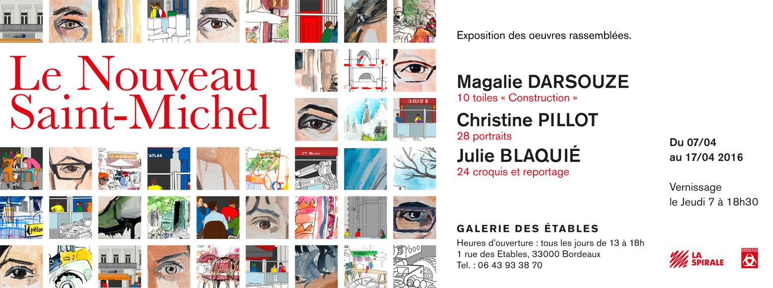Exposition Galerie des Etables Bordeaux Magalie Darsouze Magalie Darsouze Chis Pillot Julie Blaquié