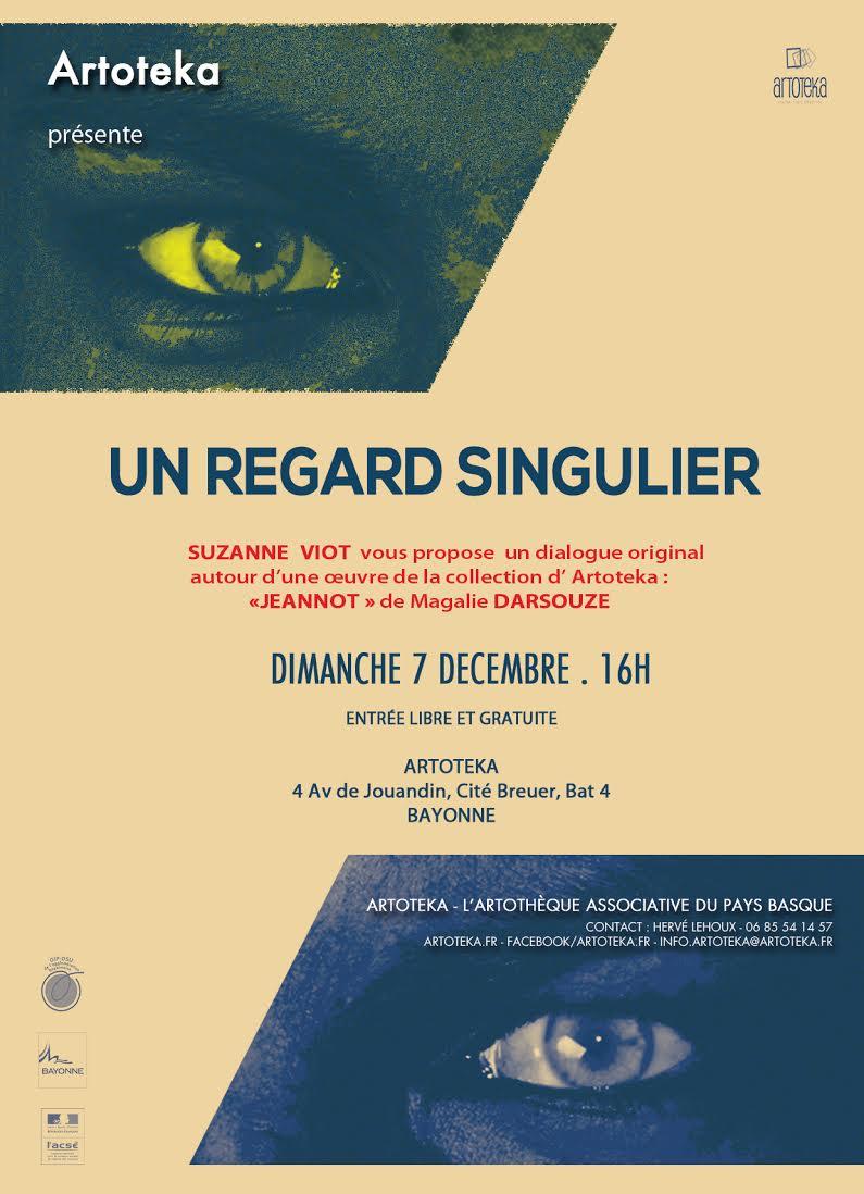 Un regard singulier artothèque Bayonne Magalie Darsouze