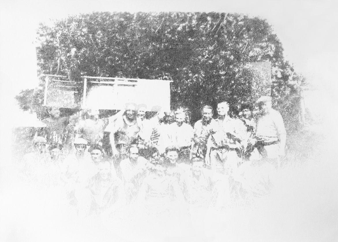 Magalie Darsouze, Mine de plomb sur papier